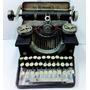 Maquina De Escrever Retrô Enfeite Metal Presente 21x15x15