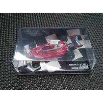 Miniatura F1 Ferrari 312t Niki Lauda Minichamps Campeão 1:43