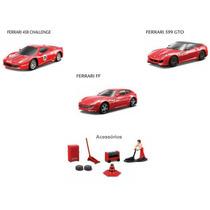 Carro Ferrari Race & Play Light & Sound 1:43 - Kit C/3