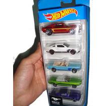 Kit Brinquedo Carros Veículos Antigo Hot Wheels Mustang