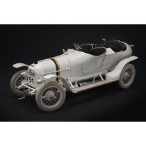 Miniatura Austro Daimler 1910 Primeiro Porsche 1:18