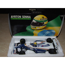 Miniatura Ayrton Senna Williams Fw 16 1994 Minichamps 1:18