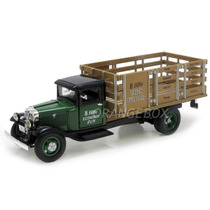 Ford Bb 1934 Stake Bed Unique Replicas 1:43 Verde 89102