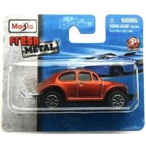 Vw Fusca 4x4 Beetle Off-road Maisto Novo Lacrado