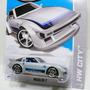 Hot Wheels Mazda Rx7 T Hunt Hw City Night Burnerz ( Silver C