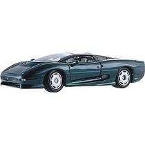 Miniatura Carro Jaguar Xj 220 Verde 1:24 Em Metal Maisto