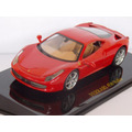 Miniatura Ferrari F458 Itália 1/43 Ixo Coleção