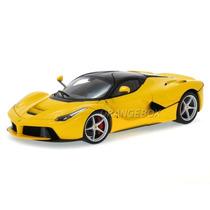 Ferrari Laferrari 1:18 Hot Wheels Elite Amarelo Bct81