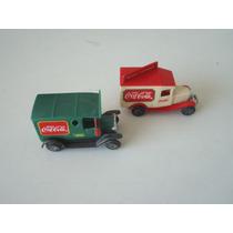 Mini Caminhão Coca-cola