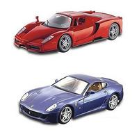 Kit De Montar 02 Ferrari 1:24 Ferrari Enzo E Ferrari Gbt