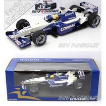 1/18 Minichamps Williams Bmw Ralf Schumacher 1st Win F1 2001