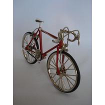 Miniatura Bicicleta Vintage Corrida Mini Bike
