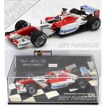 1/43 Minichamps Toyota Tf103 Cristiano Da Matta F1 2003