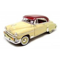 Miniatura Chevrolet Bel Air 1950 1:18 Motor Max