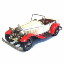 Miniatura Metal Carro Antigo Artesanal Rústico Vintage Cr113