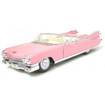 Miniatura Cadillac Eldorado 1959 Rosa 1:18 Maisto