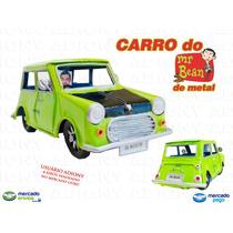 Carro Mr Bean Em Metal - Mini Cooper