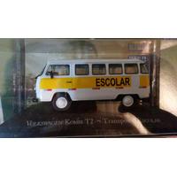 Kombi Escolar 1:43 Carros De Serviço Do Brasil
