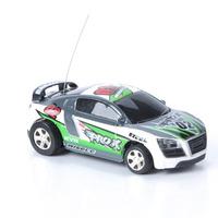 Mini Carro Lata Coca Cola Controle Remoto Cone Farol Roda Rc