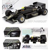 1/18 Lotus Renault Ayrton Senna Primeira Vitória Na F1 1985