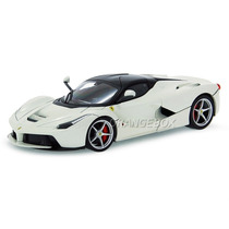 Ferrari Laferrari 1:18 Hot Wheels Branco Bly54