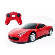Carro Controle Remoto Ferrari 458 Italia 1:24 Rastar