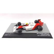 Miniatura Airton Senna-lendas Brasileiras Automobilismo-1/43