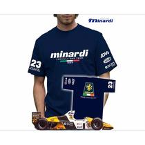 Camiseta Minardi - Formula 1 F1 - Pierluigi Martini 1989
