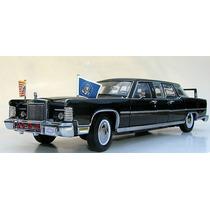 Lincoln Continental Reagan Car 1972 1:24 Yat Ming Carro Pres