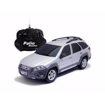 Carro R/c Fiat Palio Adventure Prata 1:18 Cks Toys