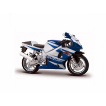 Miniatura De Moto Suzuki Gsx R 750 1:18 Maisto