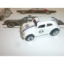 Vw Herbie. Hot Wheels 1.64. Custom By Fox .único Do Ml. Novo