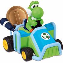 Mario Kart Miniatura Carrinho De Fricção Dtc 3529 Yoshi