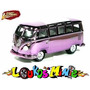 Johnny Lightning ´65 Vw 21-window Bus Kombi Lacrado 1:64