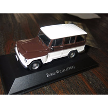 Miniatura Rural-willys 1:43 Altaya