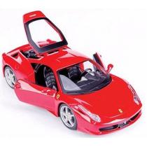 Miniatura Ferrari 458 Itália 1/24 Kit Para Montar - Maisto