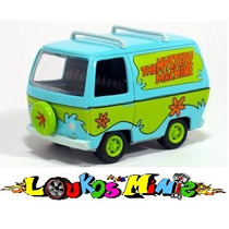 Johnny Lightning Scooby-doo Mystery Machine Lacrado Esc 1:64