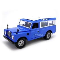 Land Rover Bburago 1:24 22063-azul