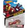 Carrinho Hot Wheels Iron Man (homem De Ferro) Marvel