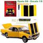 Miniatura Chevrolet Opala Ss 1:8 Fascículo 1 Para Montar