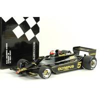 Minichamps 1/18 Lotus 79 Andretti F1 Campeão 1978 # Senna