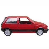 Carro Miniatura Metal Clássicos Nacionais - Uno 1.5r 1988/89