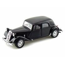 Miniatura Carro Citroen T A 15 Cv Preto 1:24 Burago