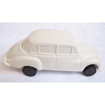 Miniatura Volkswagen Carro De Plástico Brinquedo Antigo