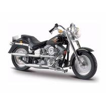 Mini Harley Davidson Flstf Fat Boy 97 Kit Montar 1:18 Maisto