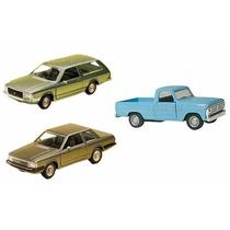 Kit Com 3 Miniaturas Nacionais Ford Del Rey + Belina + F100