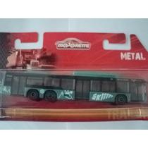 Majorette Onibus Urbano Bus City Man Diecast Metal 1/100
