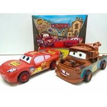Relâmpago Mcqueen E Matte À Fricção Disney Carros