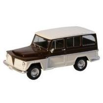Miniatura Rural Willys 1968 - Carros Inesqueciveis Nacionais
