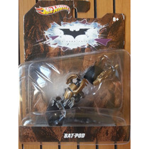 1:50 Hot Wheels Batman Bat-pod The Dark Knight Moto Cavaleir